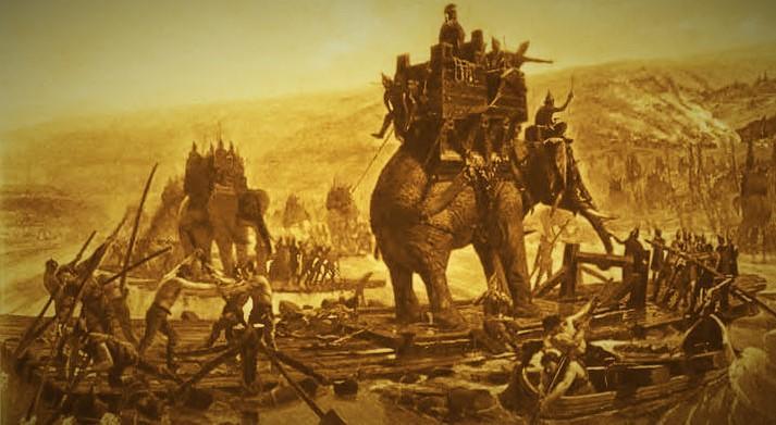 Representation of bloodshed in Kalinga War