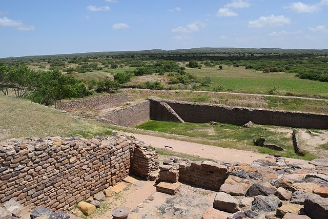 Dholavira is an Indus Valley Civilization site in Gujarat India