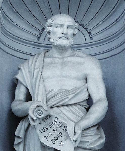 Megasthenes was an ambassador by Selucus. He has given account of Mauryan Empire.