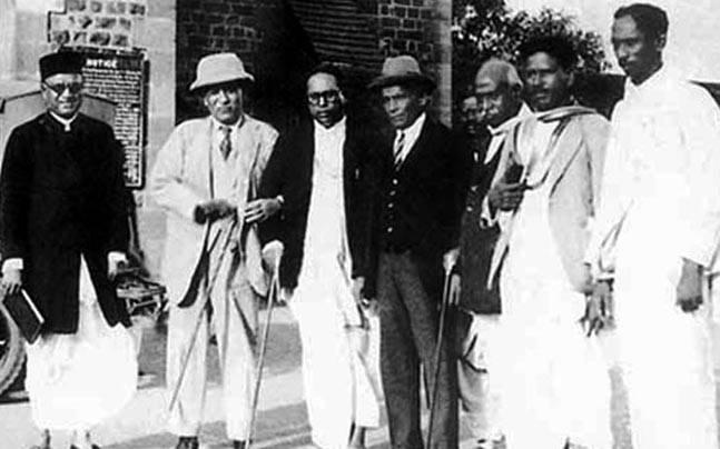 Poona Pact was a pact between Babasaheb Ambedkar and Mahatma Gandhi.