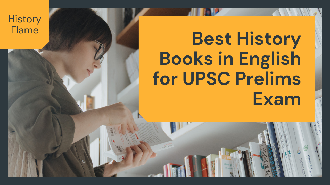 Best History Books in English for UPSC Prelims Exam