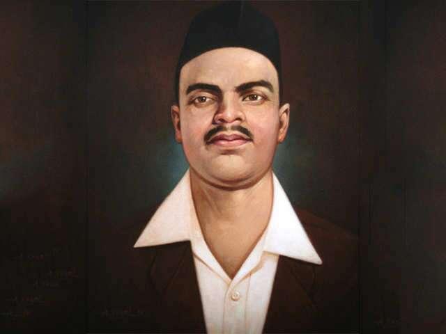 Shivaram Hari Rajguru, an Indian revolutionary, known for his involvement in the assassination of a British Raj police officer J.P. Saunders.