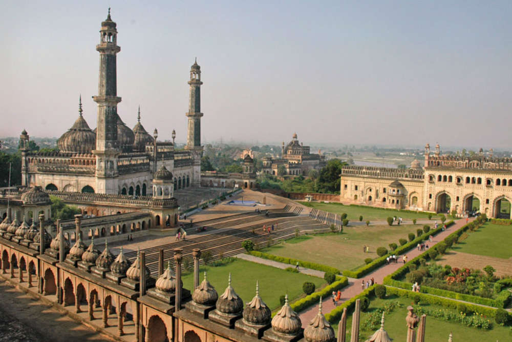 Bara Imambara, also known as Asfi Mosque, is an Imambara complex in Lucknow, India. It was built by Asaf-ud-Daula, Nawab of Awadh in 1784.