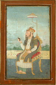 Rafi ud-Darajat was the youngest son of Rafi-ush-Shan and the nephew of Azim ush Shan. He was the 10th Mughal Emperor.