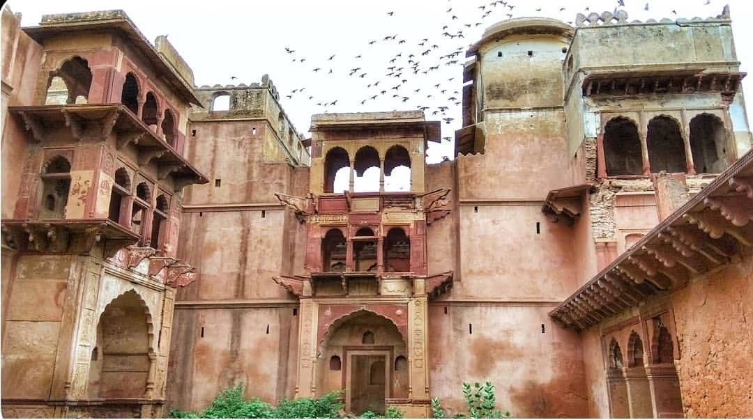 Kumber Fort, Bharatpur, where Khanderao Holkar, son of Malhar Rao holkar died