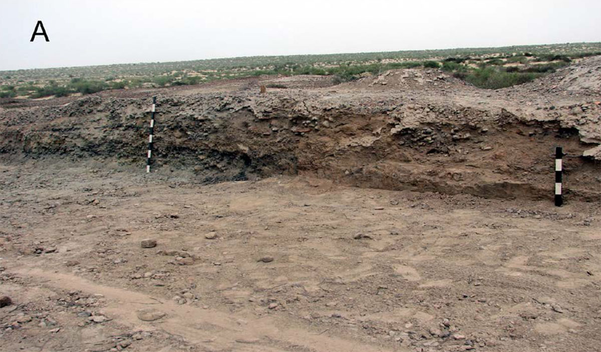 Ganweriwala, an Indus Valley Civilization site in the Cholistan Desert of southern Punjab, Pakistan, discovered by Sir Aurel Stein.