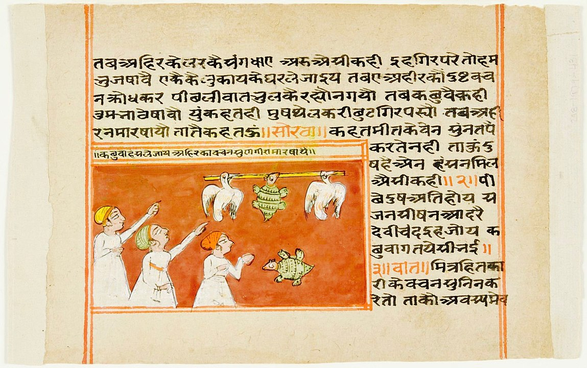 Vishnu Sharma, an Indian scholar and author, written the Panchatantra. It is one of the most widely translated non-religious books.