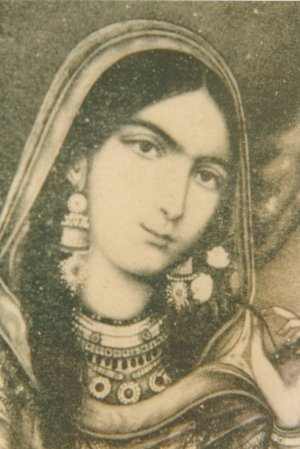 Begum Hazrat Mahal, the second wife of Nawab Wajid Ali Shah, revolted against British East India Company during the Indian Rebellion of 1857.