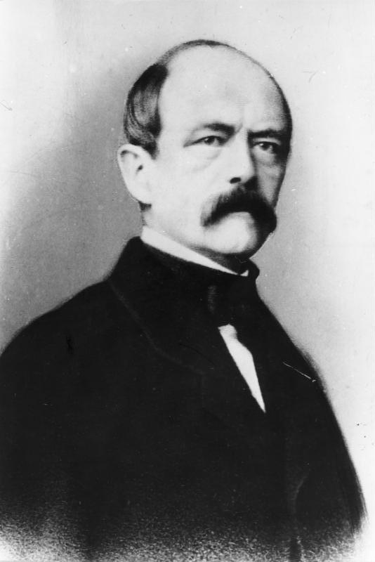 """On 30 September 1862, Otto Von Bismarck given the speech calledBlood and Iron, introducing the world to """"Blood and Iron Policy""""."""