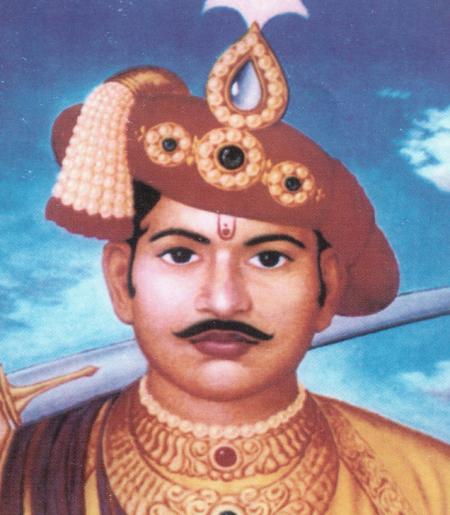 Shrimant SubhedarMale Rao Holkarwas born in 1745. He was the only son of Khande Rao Holkar Bahadur, and his mother was Ahilya Bai Holkar.