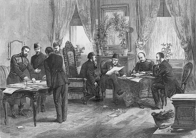 Treaty of San Stefano of 1878was a treaty between the Russian and Ottoman empires signed at San Stefano, on 3 March 1878.
