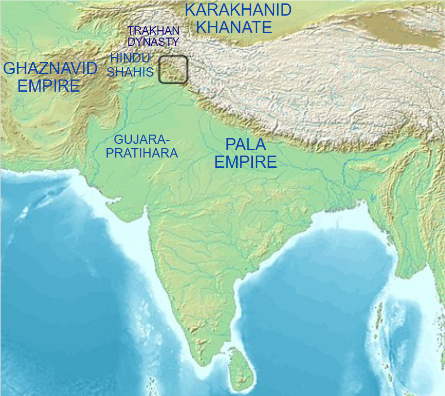 Lohara dynastywere Hindu rulers of Kashmir, in the northern part of the Indian subcontinent, between 1003 and approximately 1320 CE.